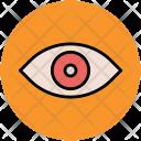Eye View Visual Icon