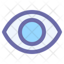 Eye Lens Optical Icon