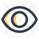 Eye Lens Optical Icon