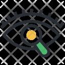 Eye Magnifier Search Icon