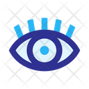 Eye Pupil Eyelash Icon