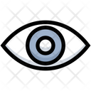 Business Financial Eye Icon
