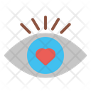 Eye First Love Love Icon