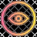 Eye User Interfaces Icon