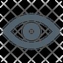 Eye Search View Icon