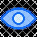Business Finance Eye Icon