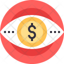 Eye Vision Conversion Icon