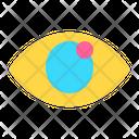 Icon Eye Abstract Primitive Icon