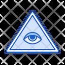 Eye God Religion Icon