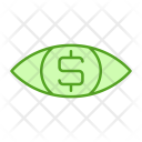 Eye Dollar Money Icon