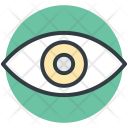 Eye View Visible Icon