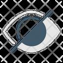 Hide Hidden Eye Icon