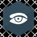 Eye View Eyeball Icon