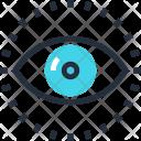 Eye Review Search Icon