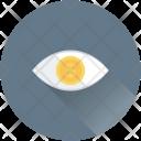 Dollar Eye Visibility Icon