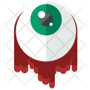 Eye Ball Blood Icon