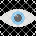 Eye Monitoring Human Icon