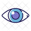 Eye Checkup Health Icon