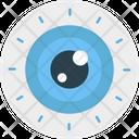 Eye Retina Visualization Icon
