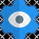 Eye And Setting Management Eye Icon