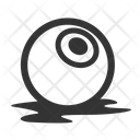 Eye Ball Cruelty Dead Icon