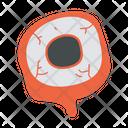 Eye Ball Horror Halloween Icon