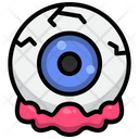 Eye Ball Spooky Icon