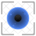 Eye Biometry Detect Icon