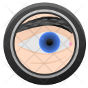 Eye Biometry Optics Icon