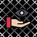 Eye Lens Care Icon