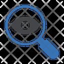 Eye Medical Search Icon