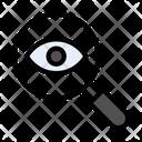 Eye Checkup Eye Search Icon