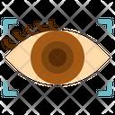 Eye Contact Communication Icon