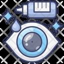 Drops Dropper Eye Icon