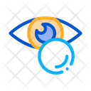 Eye Fluid Icon