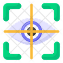 Eye Monitoring Eye Focus Monitoring Focus Icon