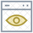 Eye Focus Visible Icon