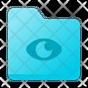 Eye Folder Icon