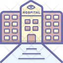 Eye Hospital Icon