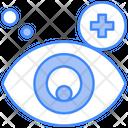 Eye Hospital Ophthalmology Eye Care Icon
