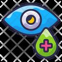 Medical Eye Eye Drop Icon