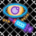 Eye Cosmetology Injection Icon