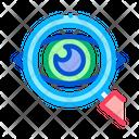 Eye Optical Investigation Icon