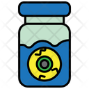 Eye Jar Eye Halloween Icon