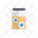 Eye Scary Jar Icon
