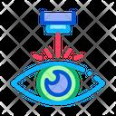 Eye Laser Correction Icon