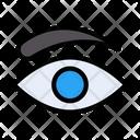 Eye Lashes Makeup Icon