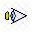 Lens Eye Eyesight Icon