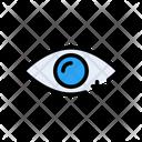 Eye Lens Add Icon