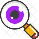 Eye Magnifying Icon